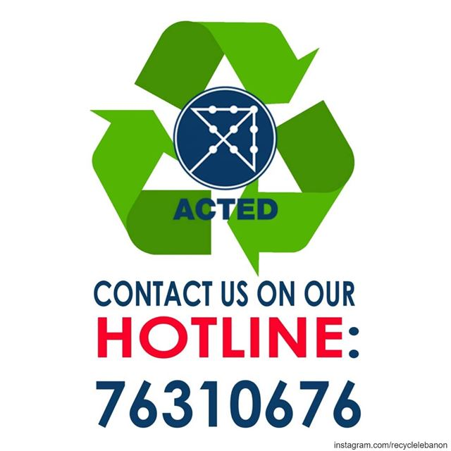 The Acted Waste Management Hotline is at your service. ♻️Looking for a...