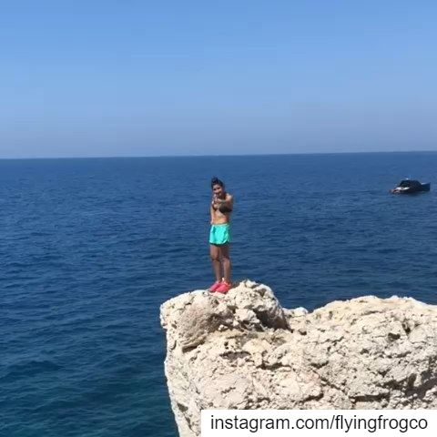 Deep water soloing seasonJoin the fun & learn how to climb...📷@donari (Lebanon)