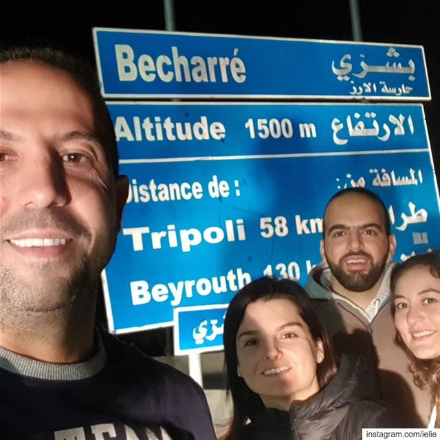 Bcharreh weekend with the Hakims (to be)....... Lebanon highest ... (Bsharri, Lebanon)