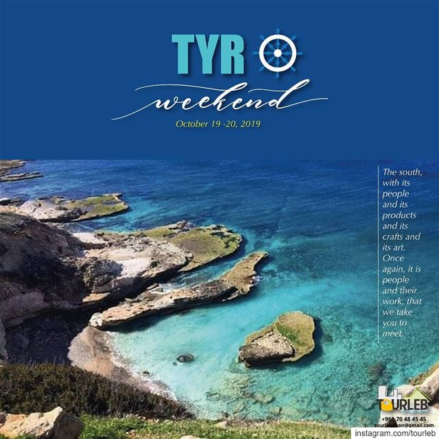 Don't miss our next weekend to tyre... Many surprises await! weekend ... (Tyre, Lebanon)