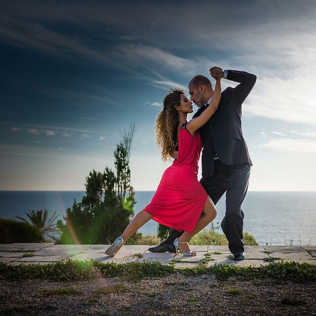 Mix passion with sensuality, add a good deal of ego to the mix and you'll get Tango. One of the most passionate street dance in the world. Here, a couple of professional tango Argentinian dancers performing at Byblos