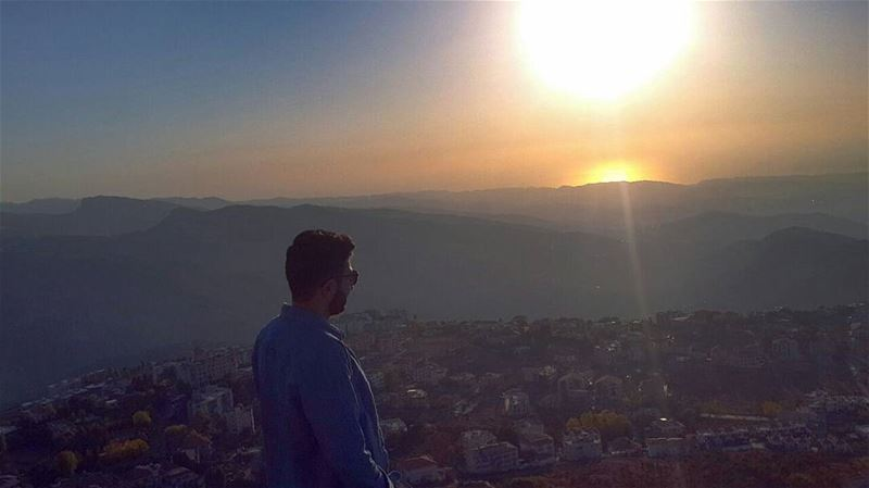 × Sunsets are proof that no matter what happens, a day can end beautifully... (Ehden, Lebanon)