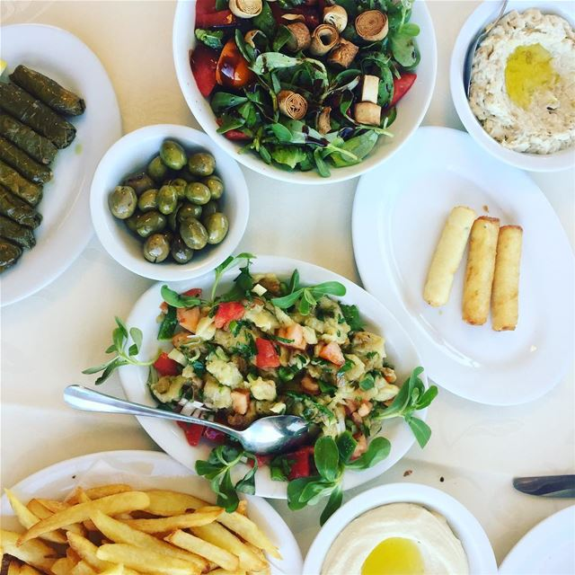 Did you know?  Eating a Lebanese Meze is a social event !! 😍It's a...