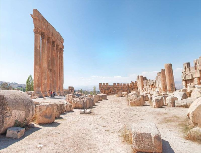 Baalbeck Jupiter 360 Panoramic Interactive View (From Inside)