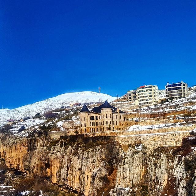 """You can visit the same place over and over again and see it differently... (Faraya, Mont-Liban, Lebanon)"