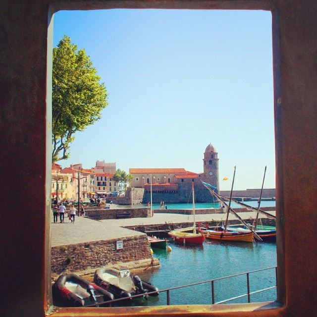 Change your perspective to change your life...  instagood  Collioure ...