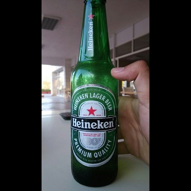 Enjoying cold  heineken  beer at  delbcountryclub  lebanon  coldweather ...