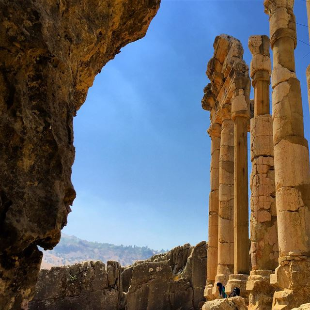 ruins  history  architecture  archilovers  architecturelovers  pillars ... (Faqra Ruins)