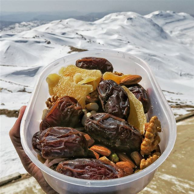 Dates on the peaks 😍 dates  ginger  nuts  snacks  sports  hike ...