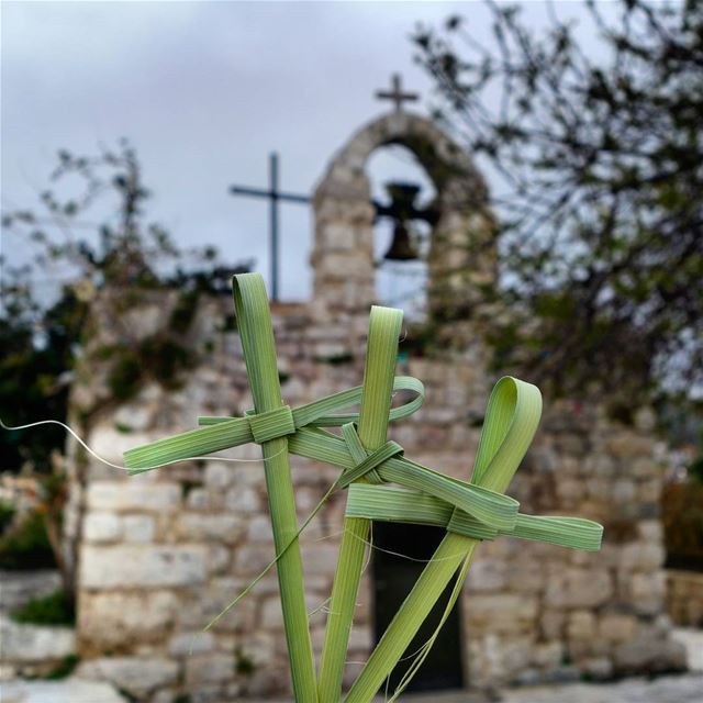 "🌿⛪🕊 ""Blessed is He who comes in the name of the Lord! Hosanna in the... (Byblos - Jbeil)"
