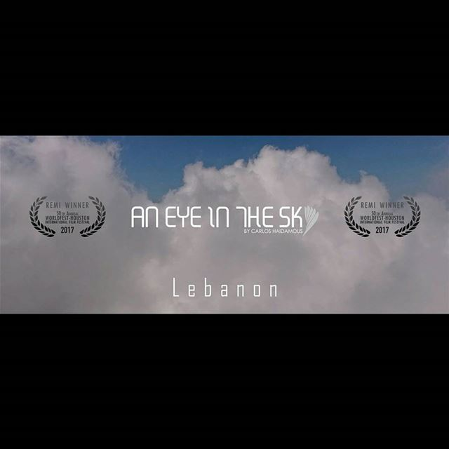 "AWARD WINNER!I'm glad to announce that "" An Eye In The Sky of Lebanon""..."