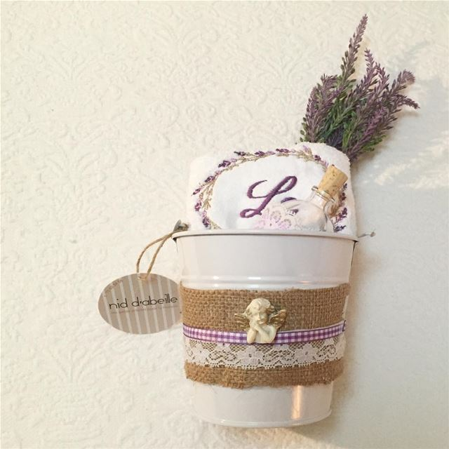 Lavender 🍃 in a pot 💜 Order your giveaways for all your occasion! Write...
