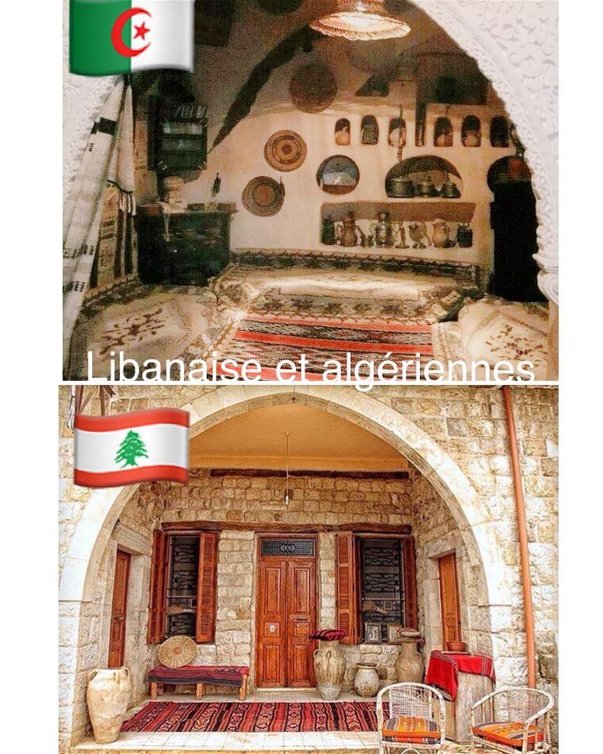 Entre le liban et l 39 algerie maison traditionnelle for Architecture maison traditionnelle libanaise