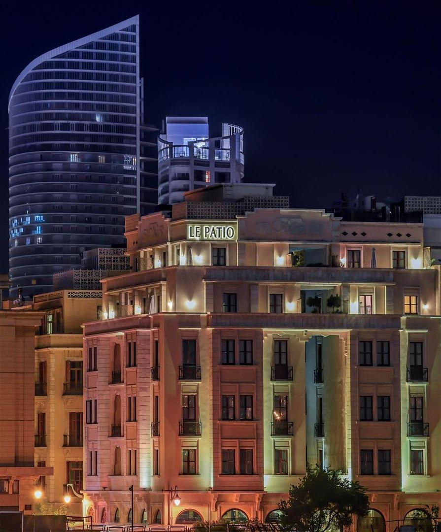 Beirute noite linda foto do le patio boutique hotel em for Boutique hotels downtown