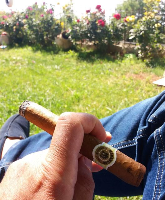 Happy sunday my friends !! Specially Lebanese cigar smokers ---------------