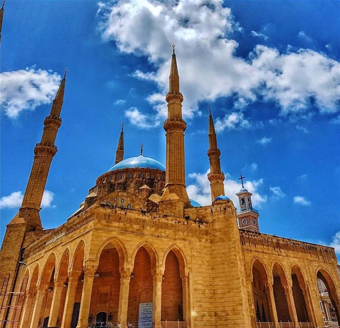 Amazing view from  downtown  beirut Photo by @pamchemali Share the... (Downtown Beirut)