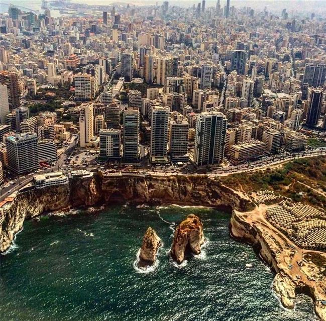 Amazing view from  beirut Photo by @chaddoud Share the beauty of ... (Beirut, Lebanon)