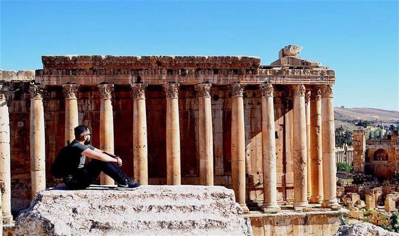 Amazing view from  baalbek Photo by @shazanq Share the beauty of ... (Baalbek, Lebanon)