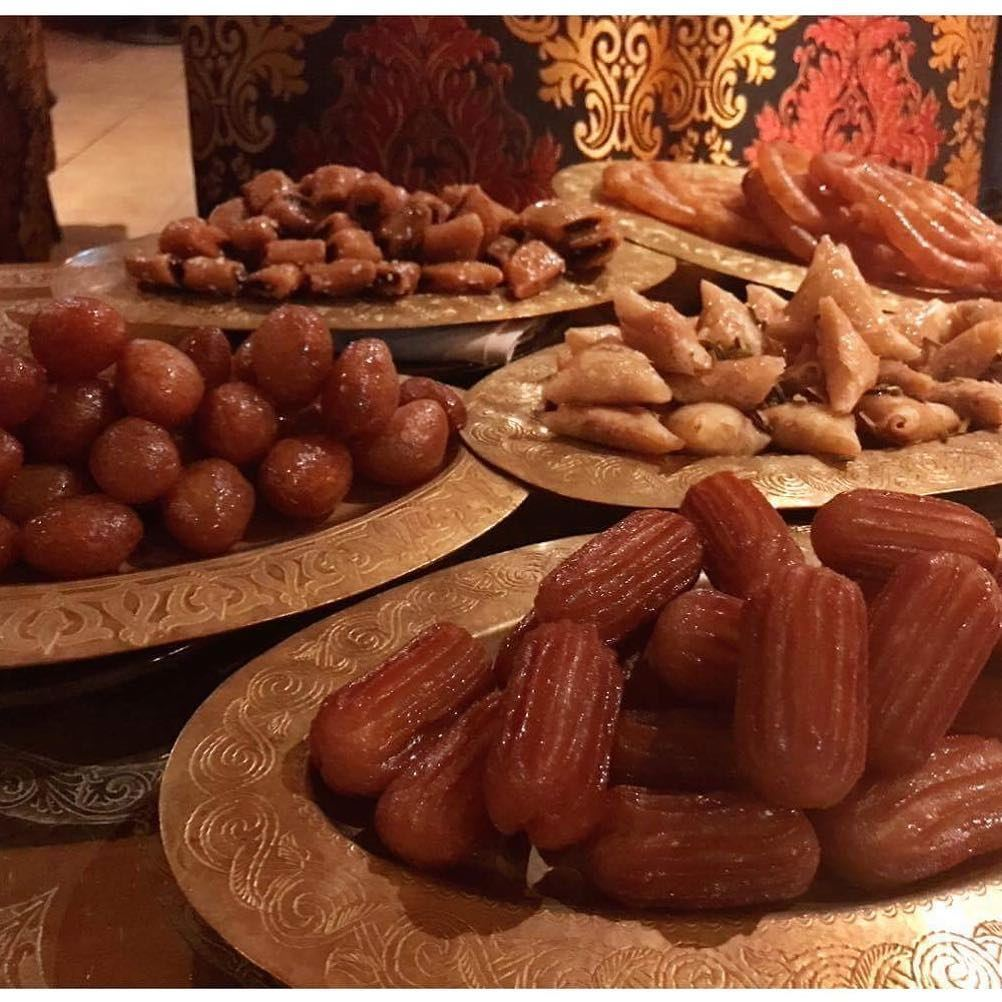 Last night's ramadan sweets, This is what I'm craving right now 💖💖💖🙏 ... (Levant Lounge & Restaurant)