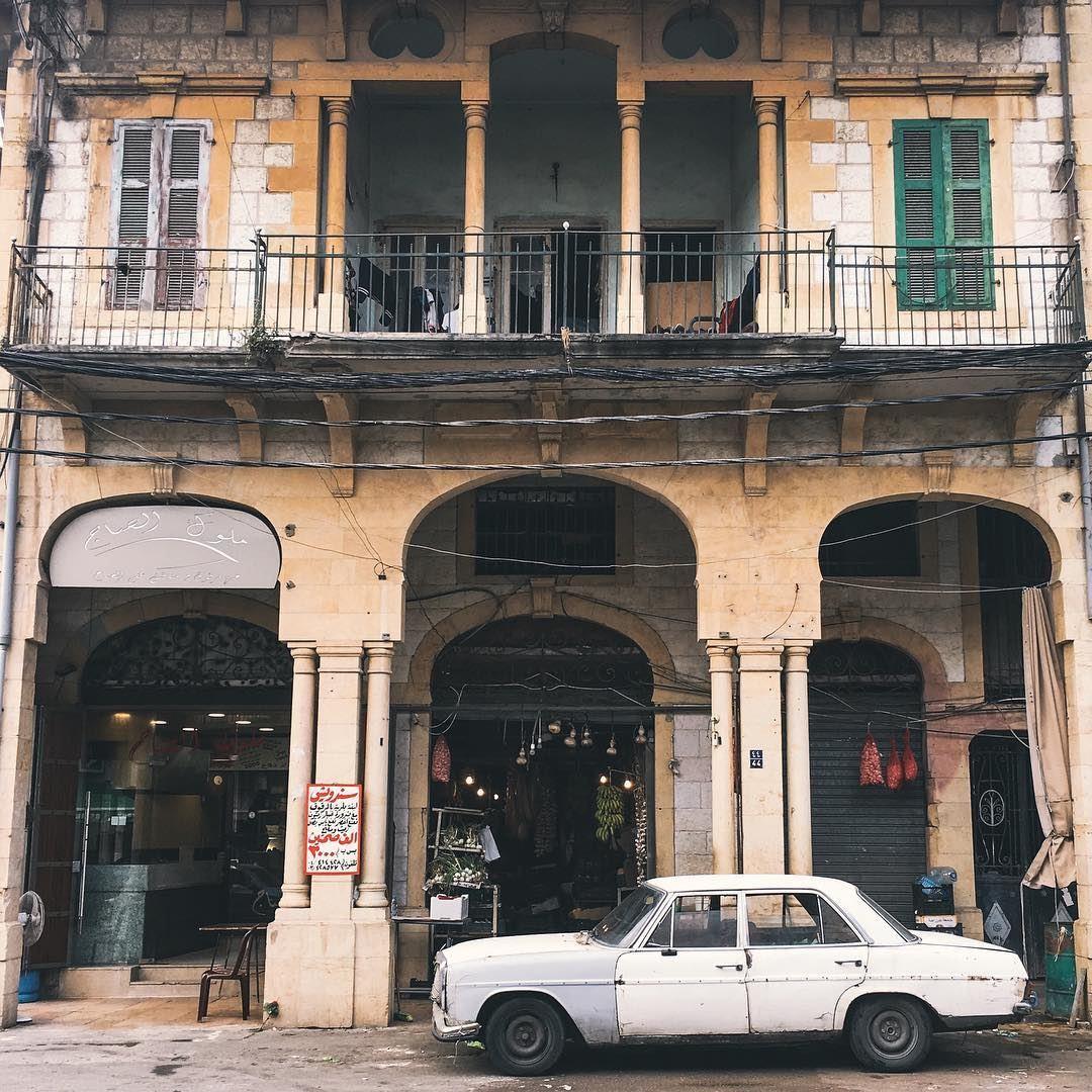 Fusty morning- lebanon antelias old house car fruit shop mercedes ...