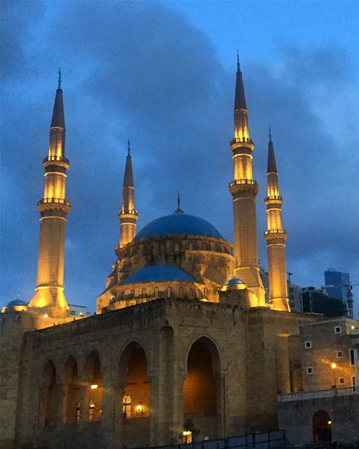 On this occasion of Eid may you be blessed with joy, peace & happiness 🙏 ... (Downtown Beirut)