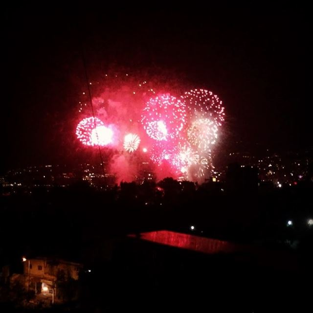 Laughter is the fireworks of the soul  كل عام وأنتم بخير  summerfun ... (Jounieh Summer Festival)