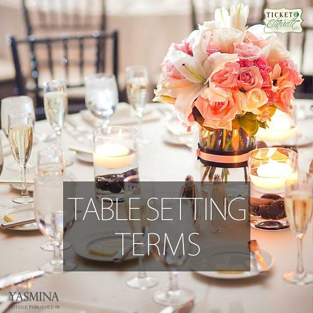 Vera on table setting etiquette with @gracytta in ...