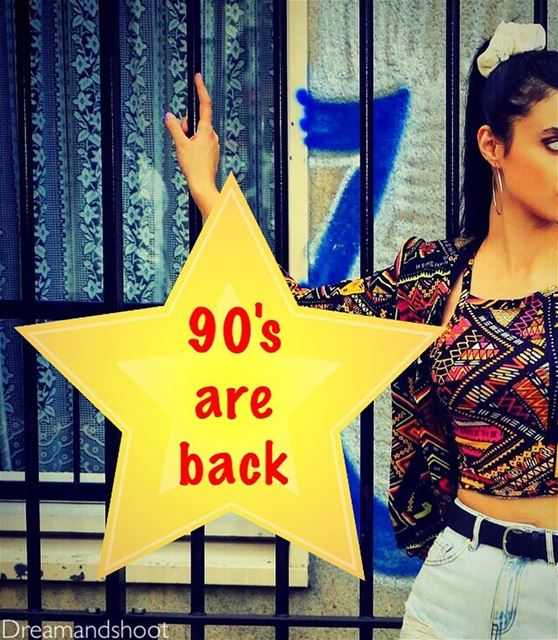 THE 90's ARE BACK WITH MY CAMERA ....NEW PHOTOSHOOT BY @adham_mayas @sylamc