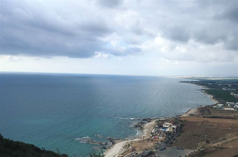 2016  summer  clouds  sea  nature  naturephotography  lebanon ... (الناقورة / Al Naqoura)
