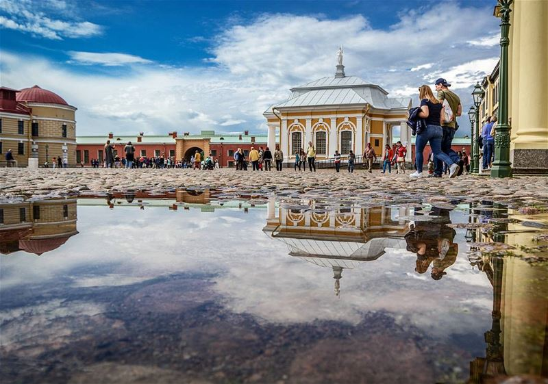 .R E F L E C T I O N S | Downtown of Saint Petersburg after the rain.... (Petropavlovskaya Krepost)