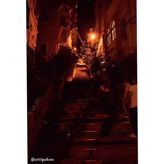 Up we go on L'Escalier de L'Art, also known as the L'Escalier de Saint-Nico (St Nicolas Stairs)