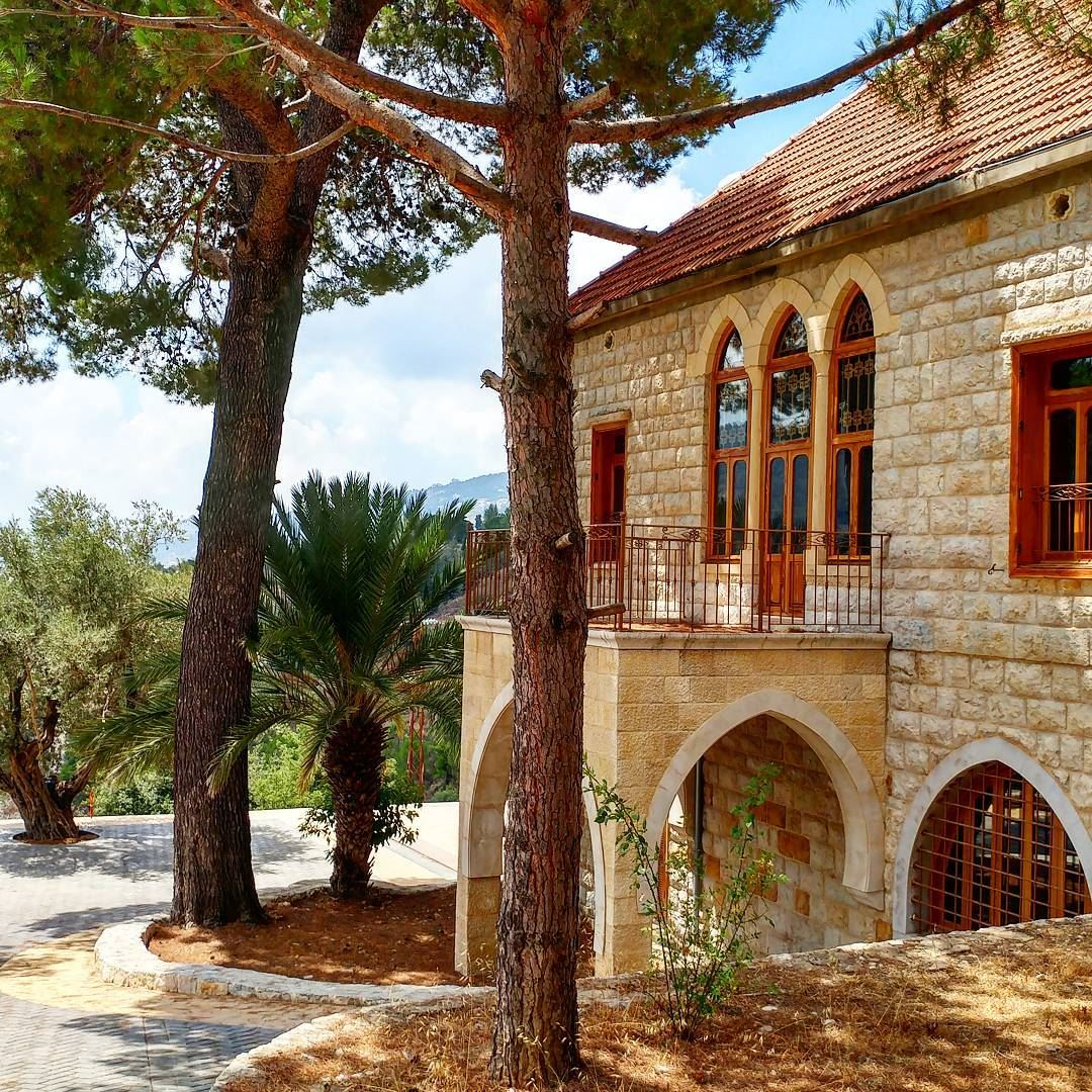 stately traditional home in the chouf is surroundeda huge