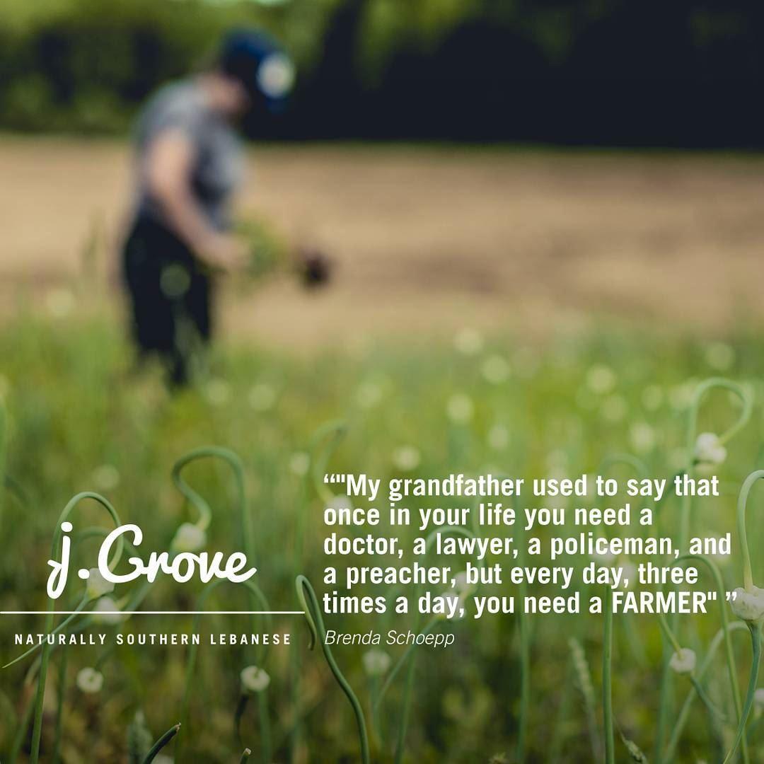 Quote Quoteoftheweek Jgrove Food Farmer Green Land Village