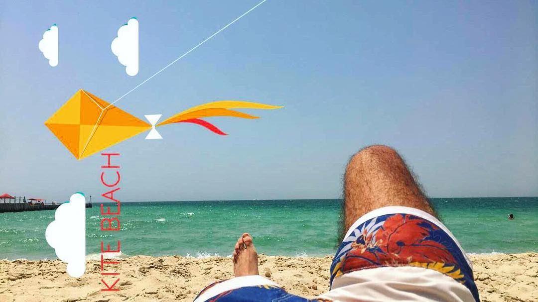 Kitebeach Beach Hot Hotweather Dubai Uae Lebanon Tanning