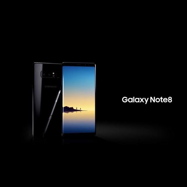 The Note 8 is here at last!!!.Samsung just announced the Note8 and it... (Downtown Beirut)