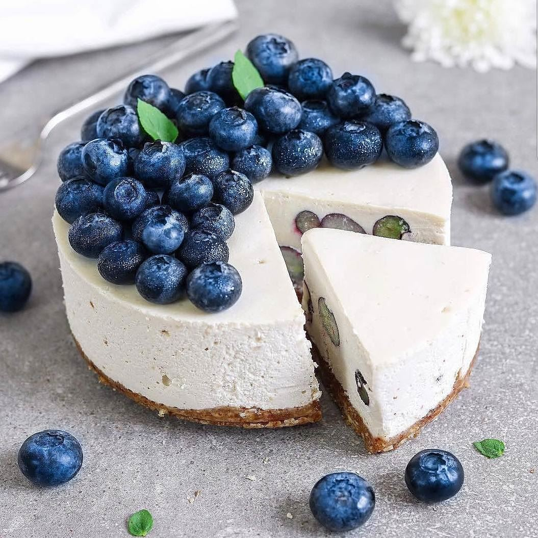 🎇Vegan Blueberry Cheesecake🎇....💙@xanjuschx 💙......🎇🎇🎇🎇 (Germany)