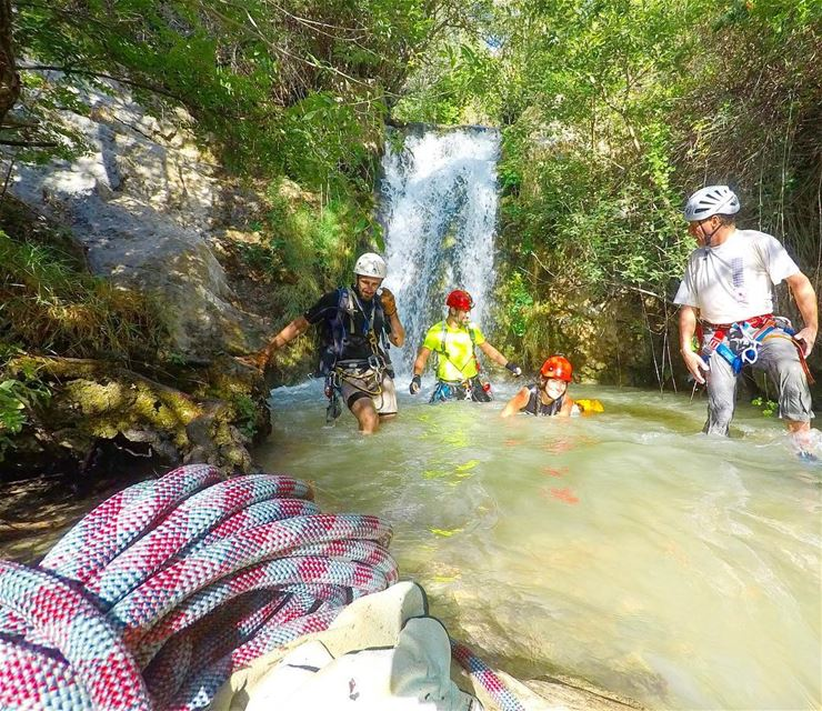 The way I like to live 💦  Canyoning ... (Hammana)