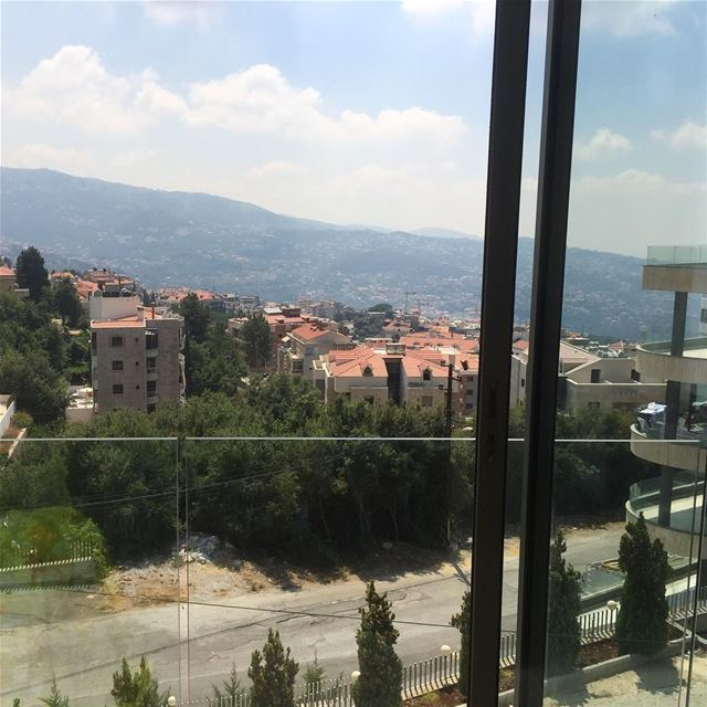 view  mountains  mountainview  capture  apartment  greatview  buildings ... (Ballouneh, Mont-Liban, Lebanon)