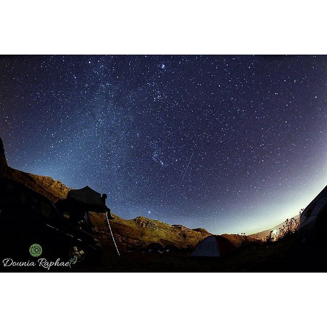 """Do not complain beneath the stars about the lack of bright spots in your... (Akoura, Mont-Liban, Lebanon)"