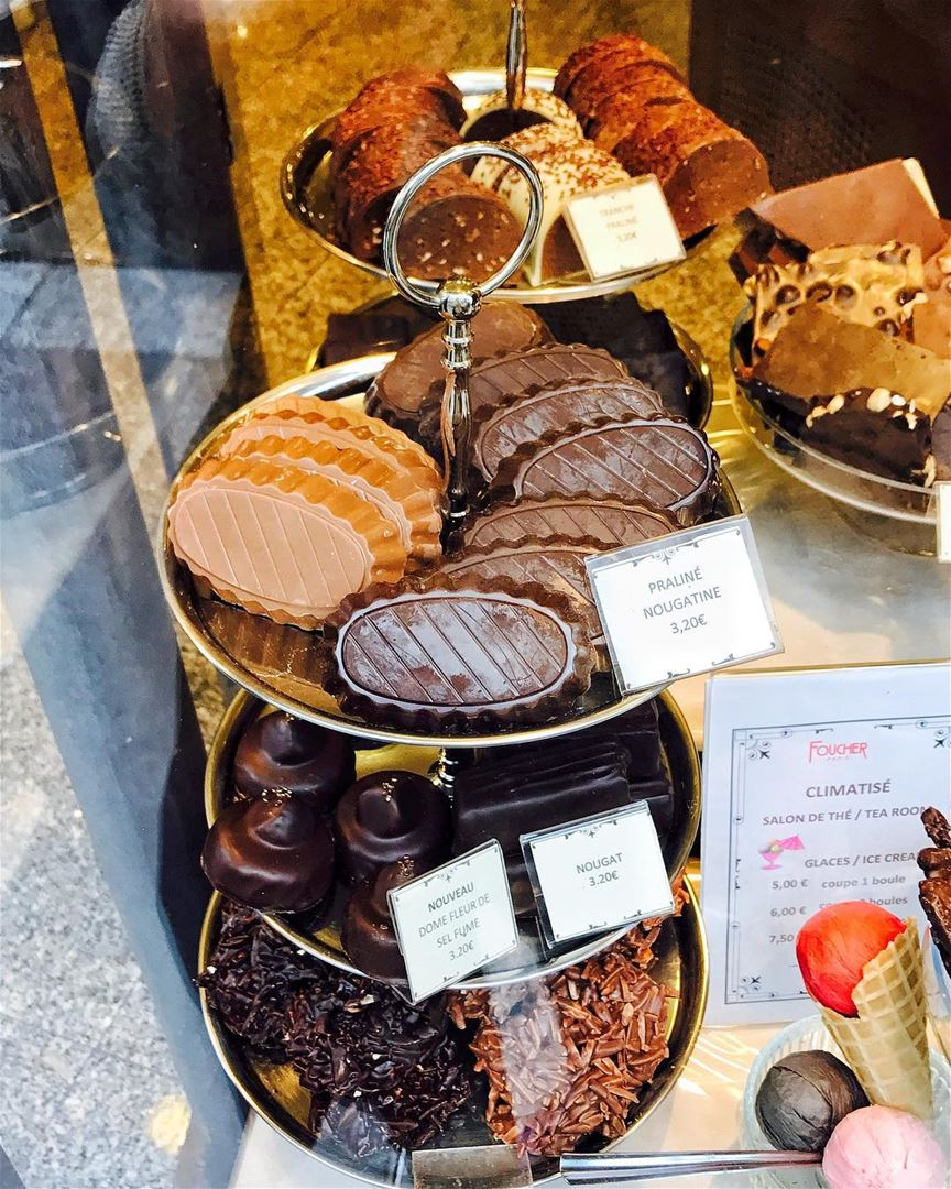 Next To The Chapel There Is Chocolat Foucher A Must Try Place To
