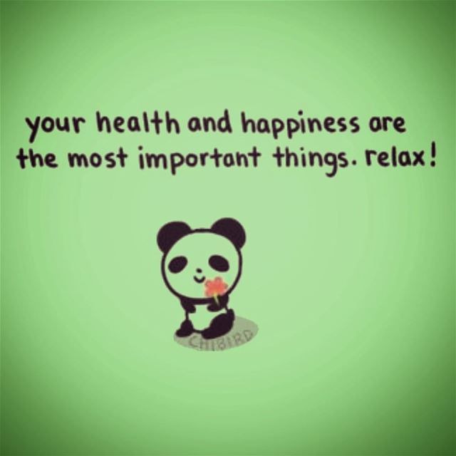 🐼🌿Happiness is nothing more than good health and a bad memory.🌿🐼......