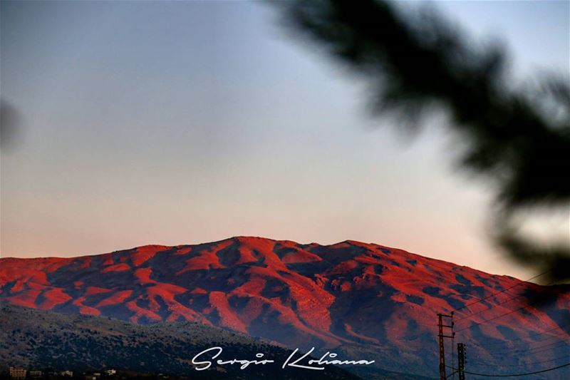جبال الحِمارايا. sergio_koliana_photography  meetlebanon  mylebanon ... (West Bekaa)