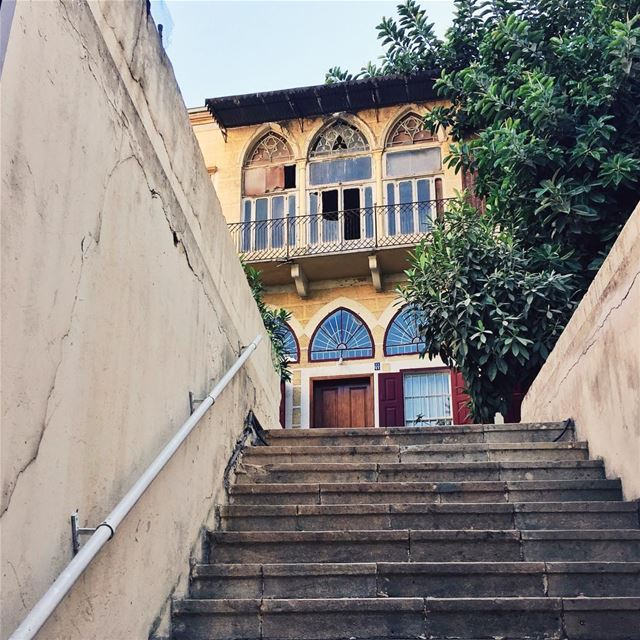 •Beirut typical house• Beirut  livelovebeirut  exklusive_shot  ... (Beirut, Lebanon)