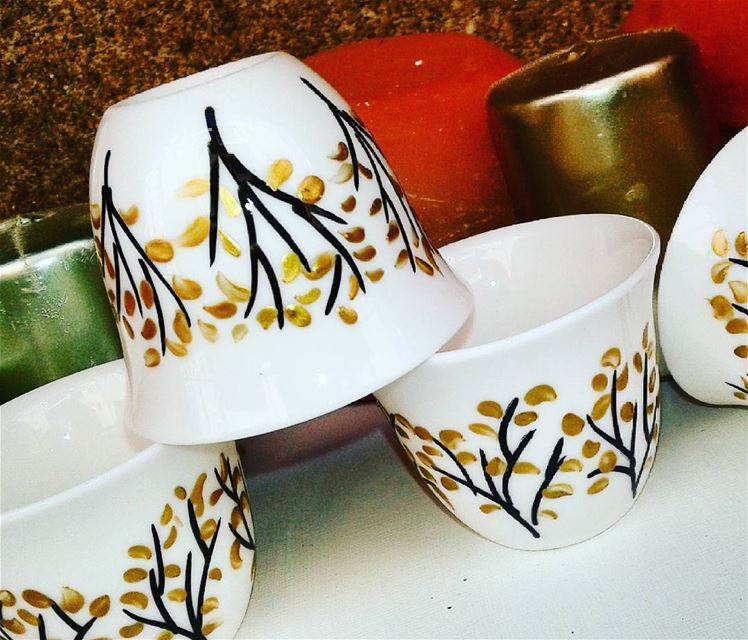 Autumn leavesGood Morning arts  coffee  coffecups  madewithlove❤️ ...