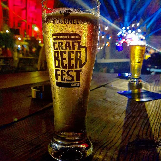 Cheers from Colonel's International Craft Beer Festival 🍻 (Colonel Beer Batroun)