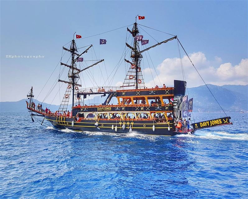 Pirates ☠☠ * insta_turkey  marmaris  photographer  photooftheday ... (Marmaris)