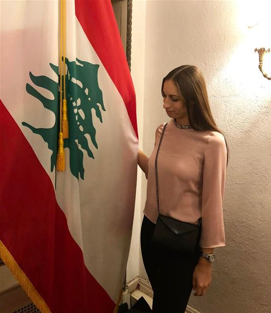 Running for prime minister 🇱🇧 happyindependenceday ... (Consulate General of Lebanon in New York)