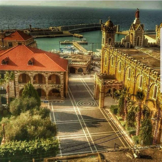 batroun  saint  estephan  church  cathedral  mina  marina  sea ... (Batroûn)