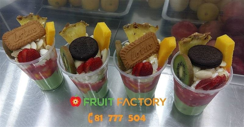 Repost @fruitfactoryleb・・・The Perfect Treat ... Slide for Full View... (Fruit Factory)