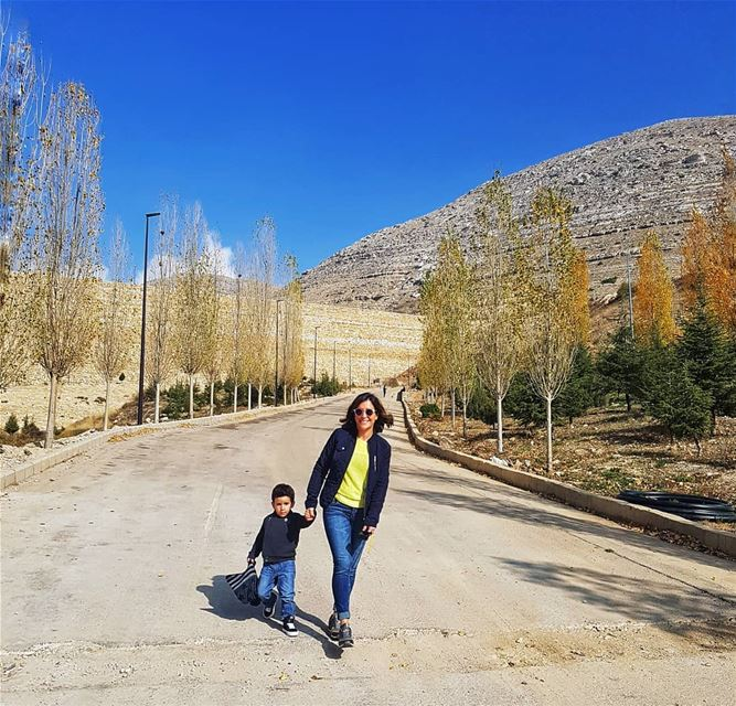 happiestmoments 💛 momandson...... farayalovers  momlife  style ... (Faraya, Mont-Liban, Lebanon)